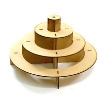 Piramide Soporte Base Circular Para Cupcakes Mesa De Dulces
