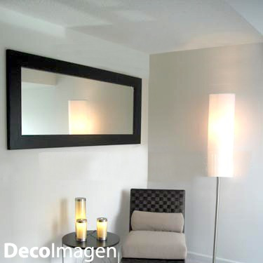 Espejo Marco Madera 10cm - Color Elección 2,20 X 0,90 M - $ 4.954,99 ...