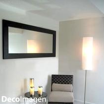 Espejo Marco Madera 10cm - Color Elección 2,00 X 0,90 M