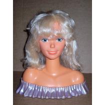 Barbie Cabeza Para Peinar Arco 1986