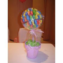 Arbolitos Golosineros Con Caramelos Masticables Sugus Candy