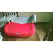 Assento Infantil P/auto Baby Style Cinza/vermelho