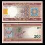 Billete De Mauritania 200 Ouguiya Año 2006
