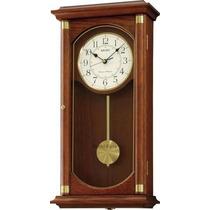 Reloj Seiko Qxh039bl Pared Sonería Pendulo Agente Oficial