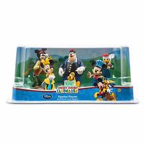 Playset Mickey Club House Disney Store Cumpleaños Importado