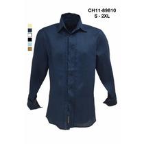 Guayabera Camisa 100%lino Para Caballero
