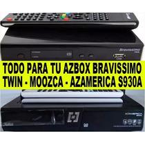 Azbox Bravissimo,azamerica S930a,transformación, Repara