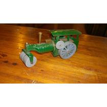 Juguete Aplanadora Antigua De Chapa A Cuerda Minic Toys