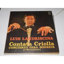 Vinilo 0777 - Luis Landriscina - Contata Criolla