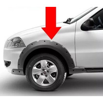 Moldura Paralamas Fiat Strada Trekking Original 4 Unidades