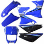 Kit Carenagem Plásticos Adesivado Yamaha Xtz 125 2006 A 2009