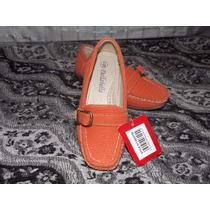 Zapatos Zapatillas De Niña A La Moda Color Naranja Talla 28