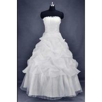 Vestido De Noiva Ou Debutante/15 Anos/novinho/ Barato
