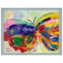 Juego De 4 Litografías: Mariposa, Payaso, Caballo Y Dama