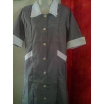 Bata Uniforme Vestido Servicio