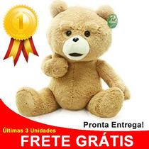 Pelúcia Urso Ted 60cm - Importado À Pronta Entrega