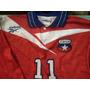 Chile Campeon! Camiseta Fútbol Chilena 1998 Reebook No 11
