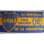 Bandera Boca La Hinchada Mas Grande 150 Cm X 75 Cm