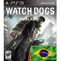 Watch Dogs - Psn - Dublado - Ps3