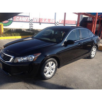 Honda Accord 2008 Ex 4 Cilindros Impecable
