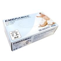 Luva De Látex Para Procedimento Com Pó Embramac M C/100