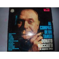 Disco Vinilo Donato Racciati Al Compas De Un Tango