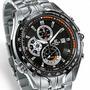 Reloj Casio Edifice Ef-543d-1a Cronometro Vettel Red Bull
