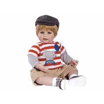 Boneco Adora Doll Bebê Realista Menino Let