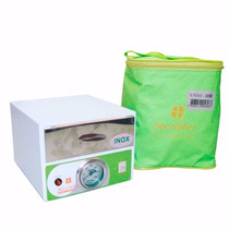 Mini Estufa Esterilizadora Manicure Alicates 180º C