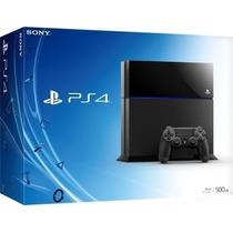 Playstation 4 Ps4 Hd 500 Gb - Novo Na Caixa - 12 X Sem Juros