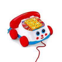 Fisher Price Teléfono Movimiento Luces Y Sonido