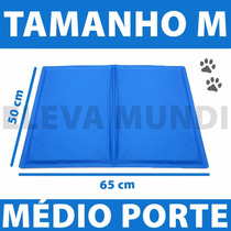 Tapete Gelado Refrascante Calor Cachorro Gato Porte Médio