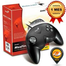 Control Gamepad Genius Maxfire G-08xu De 8 Botones Usb Pc