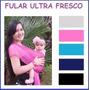 Fular Wrap Canguro Porta Bebes Mod Fullfresh(climas Calidos)