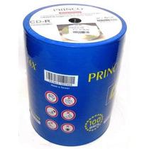 Cd Princo Paquete De 100 Unidades 80 Minutos 700 Mb