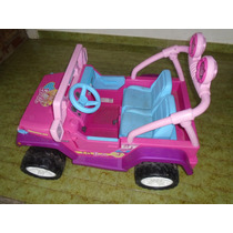 Carro Electrico Niña Barbie Fisher Price