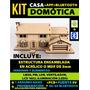 Maqueta Casa Domótica + Controlada X Bluetooth (celular)