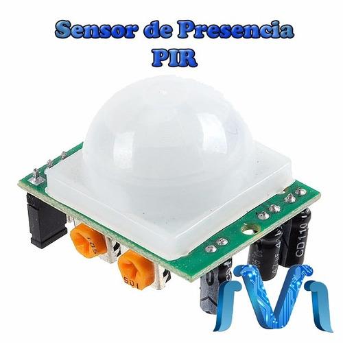 Sensor pir sr501 sensor de presencia arduino pic for Sensor de presencia