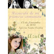Estampas De Comunion Tarjetas Originales Con Foto X24