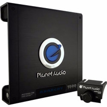 Amplificador Planet Audio Ac1500.1m 1500 Watts Clase Ab 1 Ch