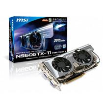 Nvidia Msi Gtx 560 Ti Twin Frozr Ii Oc 1gb