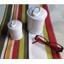 Potes De Cerâmica Imitando Latinhas (2 Potes)