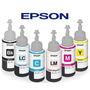 Tinta Epson Original T673 L800 L1800 T 673 Todos Los Colores