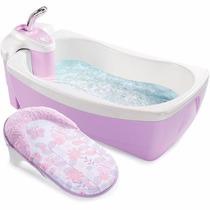Bañera De Lujo Para Bebe Tina Hidromasaje Spa Summer Infant