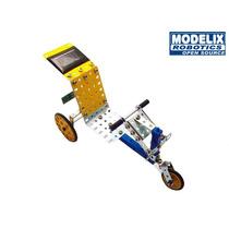 Brinquedo De Montar Modelix 221 Starter 1 Energia Solar Bike