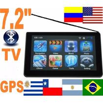 Gps 7 Pulga Tv Con Garmin Xt 4 Navegador Mapa Mercosur Eeuu