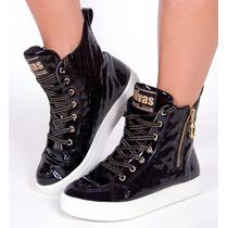 Tênis Sneaker Divas Bota Treino Academia Lazer Black Friday