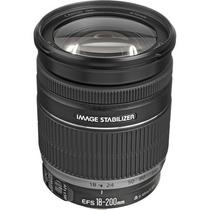 Lente Canon Ef-s 18-200mm F/3.5-5.6 Is +pronta Entrega