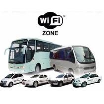 Kit Wi-fi Veicular   Roteador 3g E 4g Desbloqueado Taxi Van