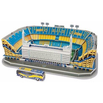 Maqueta Estadio 3d Para Armar River Racing Boca, Real Madrid